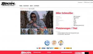 """Der MMA Kämpfer Mike Schmeißer wird auf der Webseite von """"Brachial"""" vorgestellt"""