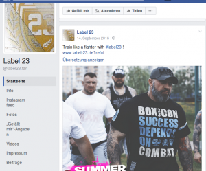 """Russische Neonazis von """"PPDDM - Father Frost Mode"""" als Model für """"Label 23"""""""