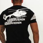 """T-Shirt von """"Label 23""""; Motiv: """"Observieren"""""""