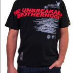 """T-Shirt von """"Label 23""""; Motiv: """"Unbreakable Brotherhood"""""""