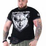 """T-Shirt von """"PPDM""""; Motiv: """"Russland-Deutsche Wölfe MC"""""""