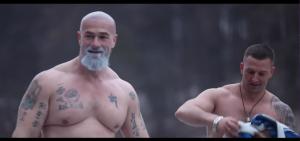 """Der russische Schauspieler Sergey badyuk in einem Motivationsvideo von """"PPDM"""""""