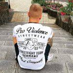 "T-Shirt von ""Pro Violence""; Motiv: ""Boxing Club"""