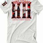 "T-Shirt von ""Pro Violence""; Motiv: ""HH"""