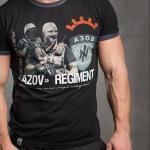 "T-Shirt von ""Svastone""; Motiv: ""Azov Regiment"""