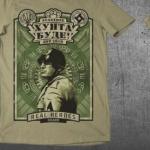 """T-Shirt von """"Svastone""""; Motiv: """"Mussolini"""""""