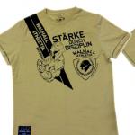 """T-Shirt von """"Walhall Athletik""""; Motiv: """"Stärke durch Disziplin"""""""