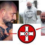 Auf Shirts wie auch als Tattoo präsentiert Markus Fuckner das Symbol des KKK in leicht veränderter Form